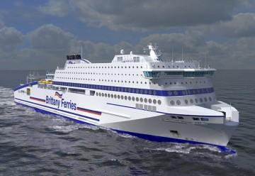 """Este será el aspecto exterior del futuro buque """"Honfleur"""""""
