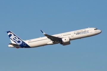 Prototipo del avión Airbus A321neo