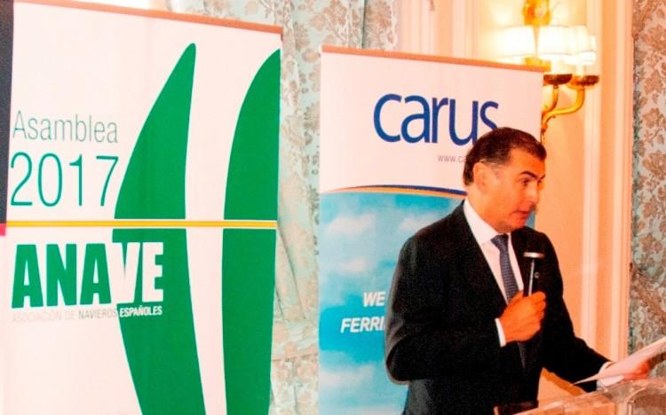 Alejandro Aznar, presidente de Anave, en su intervención