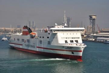 """El buque """"Dominios"""" pasa a engrosar la flota de Trasmediterranea en propiedad"""