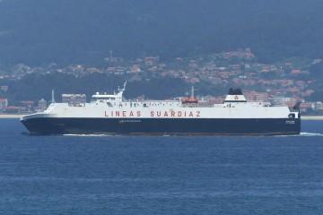 Dos buques de Suardíaz atienden la rotación semanal hasta Tánger Med