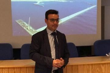 José Rafael Díaz Hernández, director de la Autoridad Portuaria de Santa Cruz de Tenerife