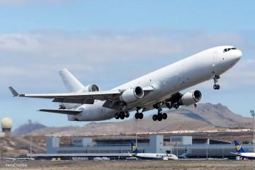 Los aviones MD-11 en servicio operan como cargueros