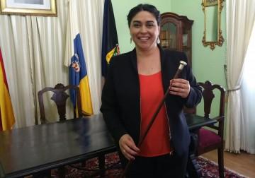 Nieves María Rodríguez Pérez, primera alcaldesa de Fuencaliente de La Palma