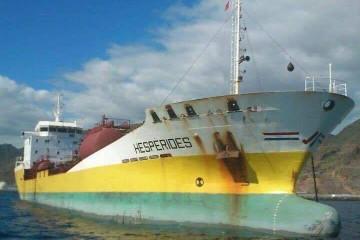 La flota mercante española pierde un buque excelente, a pesar de su edad