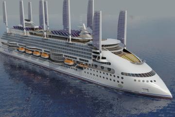 """Este será el llamativo aspecto exterior del futuro """"Ecoship"""""""