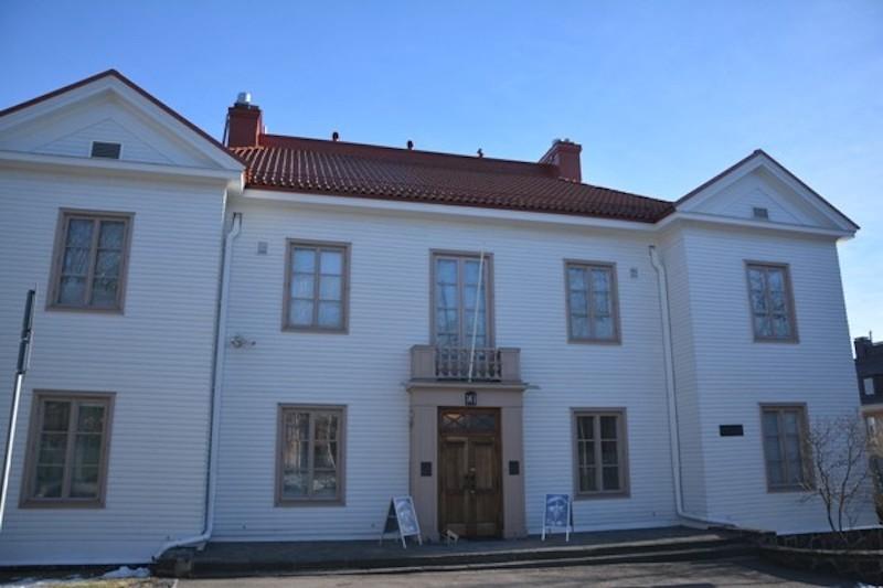 Esta fue la residencia oficial de Mannerheim entre 1924 y 1951