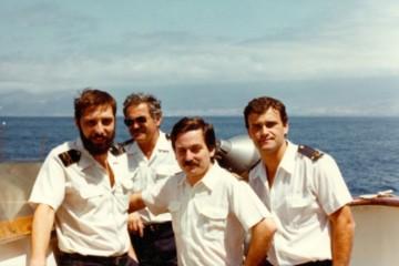 De izq. a dcha: Juan Miguel Pérez González, José Manuel Jiménez Morales, Javier Lamelas Olarán y Nicolás Barreto Herrera