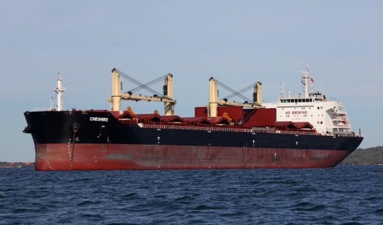 """Este era el buque """"Cheshire"""", hundido al sur de Gran Canaria"""