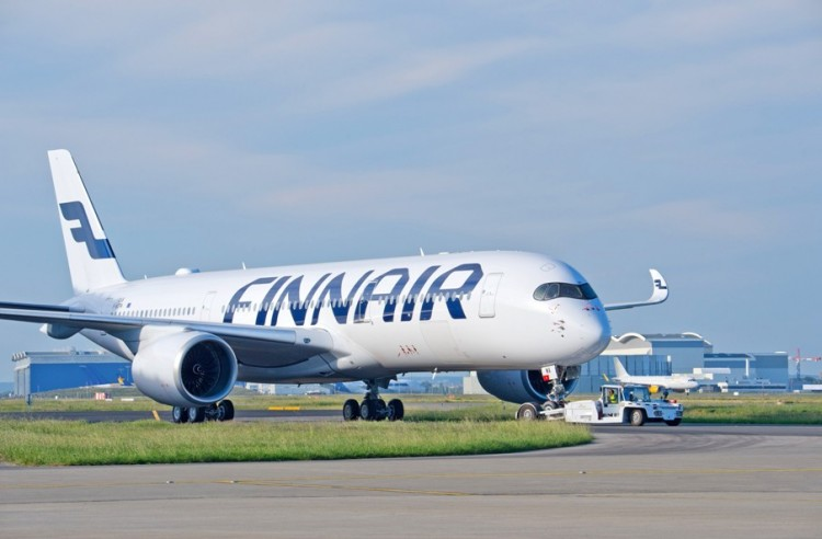 Finnair es una de las principales operadoras del nuevo avión A350