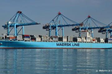 """El buque """"Maersk Genoa"""", mañana, por primera vez, en el puerto de Santa Cruz de Tenerife"""