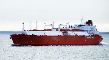 """El buque metanero """"Sevilla Knutsen"""", de nuevo en servicio"""