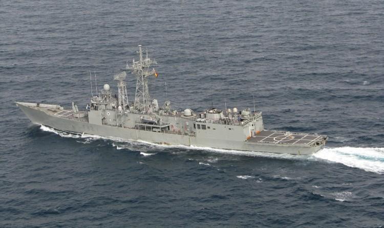 """La fragata """"Victoria"""" (F-82) cumple treinta años en servicio"""