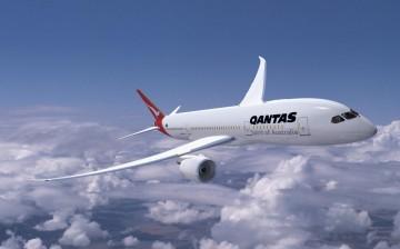 Qantas tendrá una flota de ocho aviones Boeing B-787 -9 Dreamliner