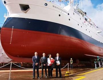 """El buque pesquero """"Montenegro"""" ha sido encargado por Kalamar Limited"""