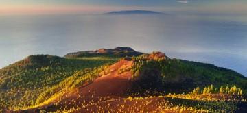 La dorsal Cumbre Vieja es el edificio volcánico más activo de Canarias