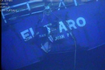 """El buque """"El Faro"""" naufragó víctima del huracán """"Joaquín"""""""