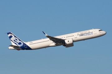 Prototipo del avión A321neo