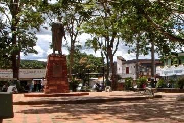 Plaza Bolívar de Santa Elena de Uairén, eje urbano de la ciudad
