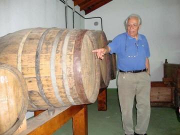 Antonio Eliseo Carballo Pérez, en Bodegas Carballo
