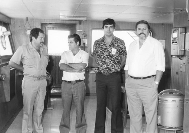 De izq. a dcha.; Fernando García Cuñedo, Manuel Arias Guigou, Juan Carlos Díaz Lorenzo y José María Campoy López