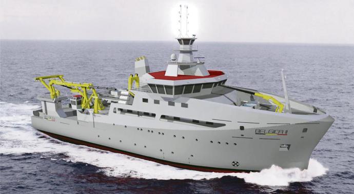 Freire construirá el futuro buque oceanográfico de Bélgica