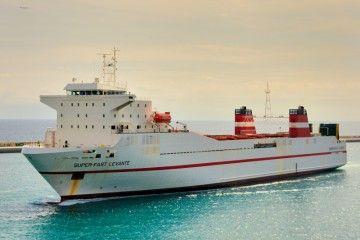 """El buque """"Superfast Levante"""", abanderado de nuevo en España"""
