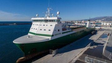 """El buque """"Miranda"""" ha sido renombrado """"Miramar Express"""""""