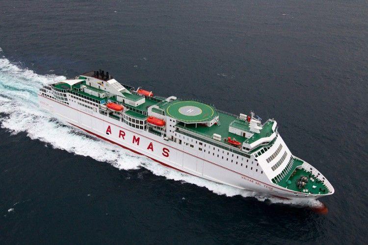 El futuro buque de Naviera Armas será el mayor de su flota
