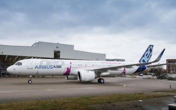 Roll out del primer A321neo ACF, montado en Alemania