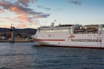 El temporal obliga a una reestructuración de la programación de Trasmediterránea