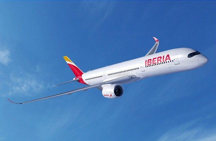 Iberia tendrá una flota de 16 aviones A350 serie -900
