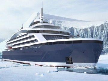 Este será el aspecto exterior del futuro buque de Ponant