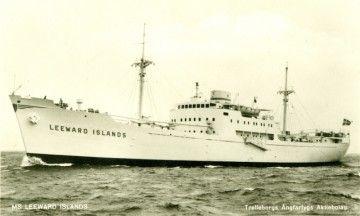 """El histórico """"Contramaestre Casado"""", en su primera etapa como """"Leeward Islands"""""""
