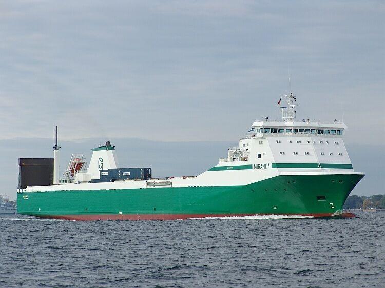 """El buque """"Miranda"""", recién adquirido por FRS Iberia"""
