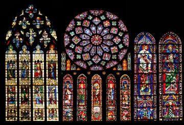 Vitrales de la catedral de Chartres (Francia)