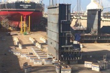 El primer macro del futuro petrolero ha sido puesto en el plan del dique seco
