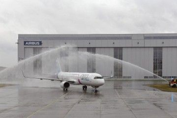 Airbus ha realizado hoy con éxito el primer vuelo del A321LR