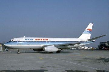 La compañía francesa Air Inter fue la única operadora del avión Dassault Mercure