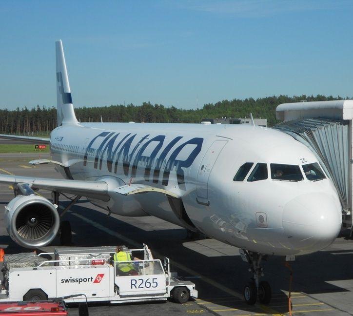 Finnair vuela entre España y Finlandia con aviones A321