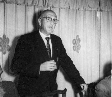 Emilio Quintana Sánchez, alcalde de Fuencaliente en 1959