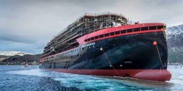 """Botadura del buque """"Roald Amundsen"""""""