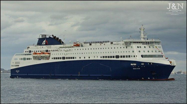 """El ferry """"Nova Star"""" ha estado desde 2016 al servicio de Inter Shipping"""