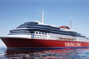Este es el aspecto exterior que tendrá el ferry que Viking Line construye en China