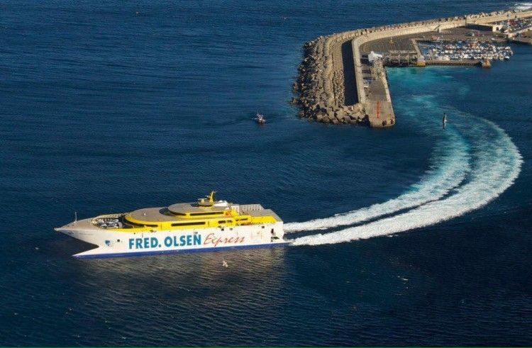 El uso del puerto de Agaete, motivo de litigio ante la UE