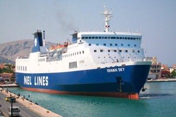 """Este es el ferry """"Ionian Sky"""", futuro """"Santa Engracia"""""""