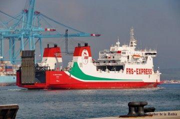 """El buque """"Al Andalus Express"""" es propiedad de FRS Iberia"""