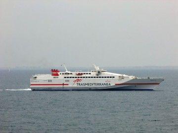 """La línea Gandía-Ibiza-Palma será atendida por el buque de alta velocidad """"Almudaina Dos"""""""