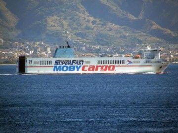 """El buque """"Superfast Baleares"""" está fletado por Moby Cargo"""