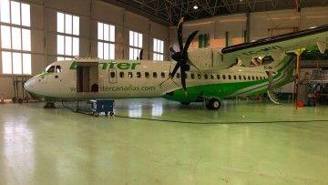 """El décimo avion ATR-72 serie -600 de Binter se llamará """"Isla Bonita"""""""